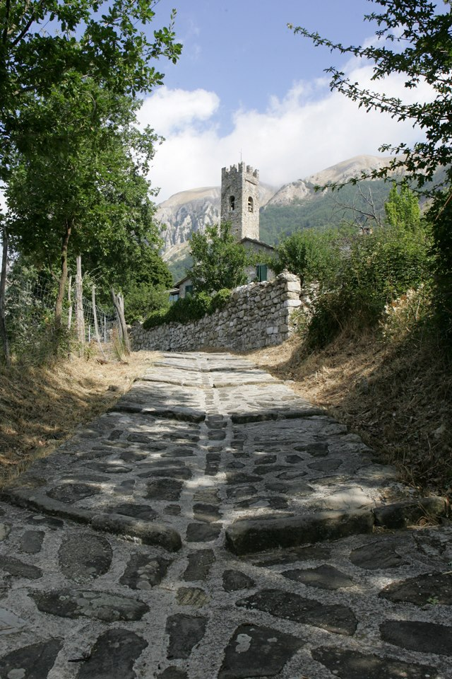 La frazione di San Cassiano di Controne nel comune di Bagni di