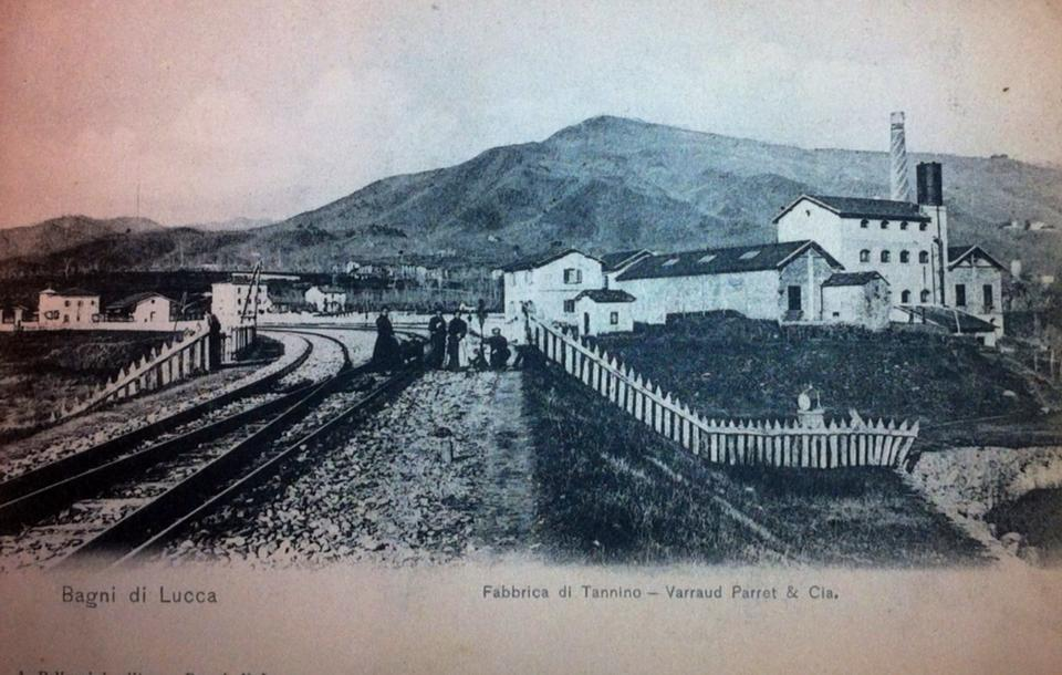 Old postcard turismo bagni di luccaturismo bagni di lucca - Canyon park parco avventura bagni di lucca lu ...