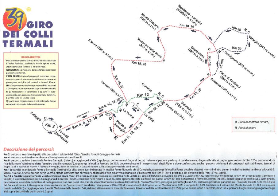Giro dei Colli Termali2015